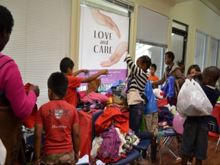 SR Love and Care Clothing drive